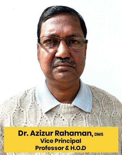 1 DR. AZIZUR RAHAMAN