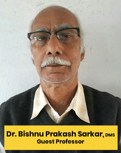 1 Dr. Bishnu Prakash Sarkar