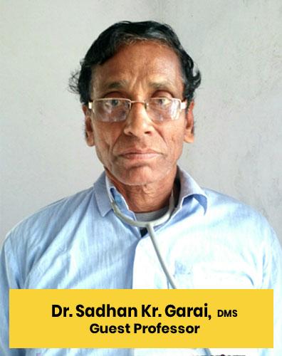 1 Dr. Sadhan Kr. Garai