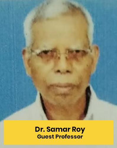 Dr Samar Roy